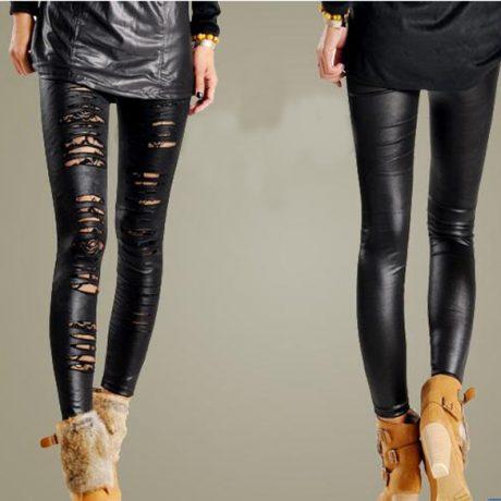 fashion-lace-ripped-leggings
