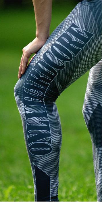 Sport Leggings Fitness Clothing Side Leg View