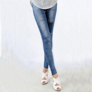 Women's Denim Leggings,Thin Jeans, Casual Denim Leggings