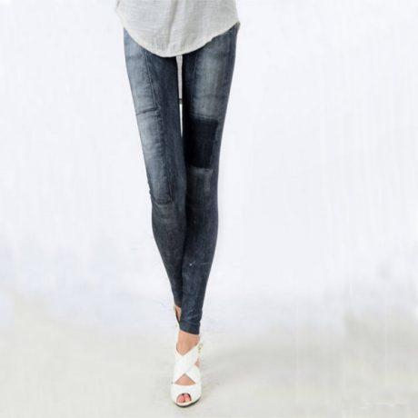 Women's Denim Leggings,Thin Jeans, Casual Denim Leggings 1