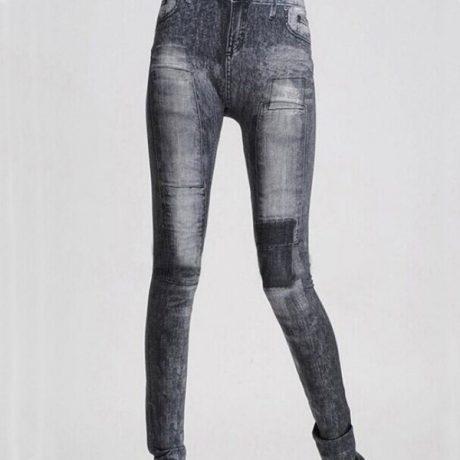 Women's Denim Leggings,Thin Jeans, Casual Denim Leggings 2