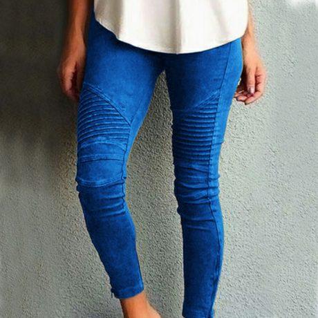 Fashion Plus Size Women's Leggings Stretch Trousers,  5 Colors 1