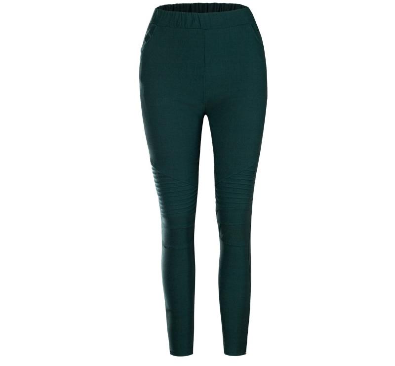 Fashion Plus Size Women's Leggings Stretch Trousers, 5 Colors 51