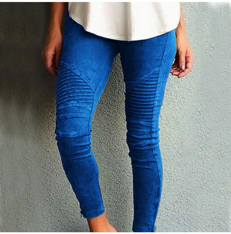 Fashion Plus Size Women's Leggings Stretch Trousers, 5 Colors 45