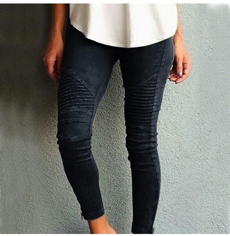 Fashion Plus Size Women's Leggings Stretch Trousers, 5 Colors 46