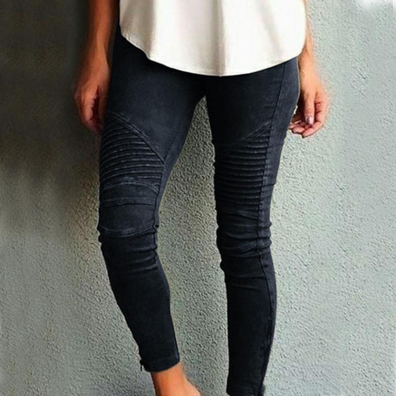 Fashion Plus Size Women's Leggings Stretch Trousers,  5 Colors 2