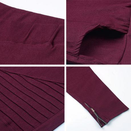 Fashion Plus Size Women's Leggings Stretch Trousers,  5 Colors 5